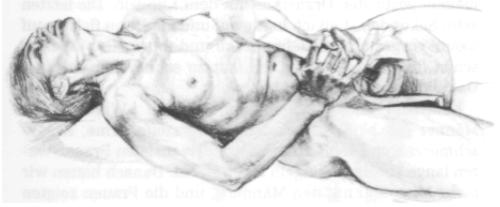 Betty Dodson masturbating nude