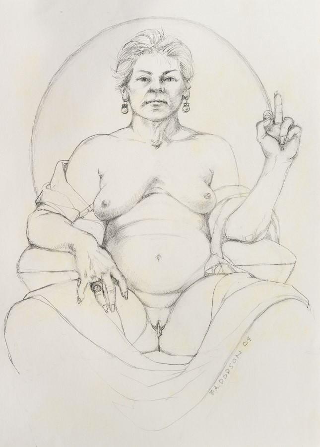 Betty Dodson nude self portrait