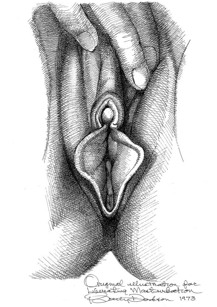betty dodson vulva close up