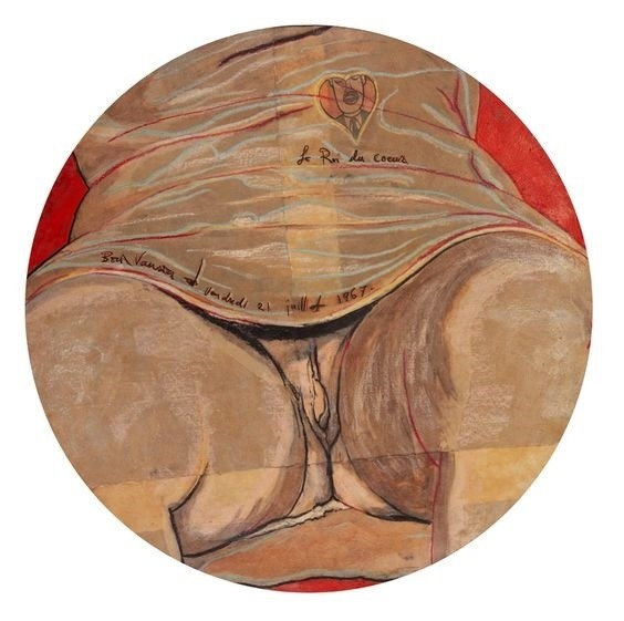 Boris Vansier erotic art