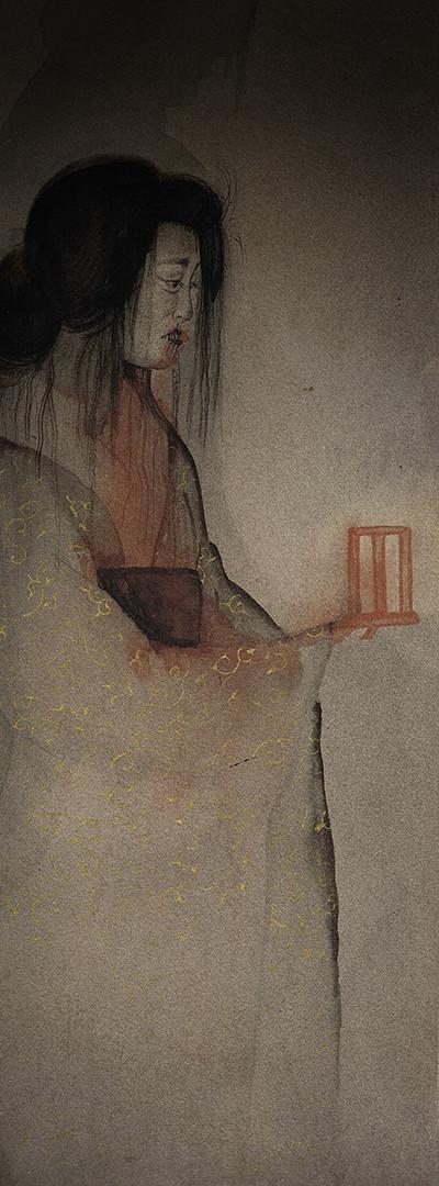 """""""Botan Dōrō"""" (peony lantern) by Anna Maia"""