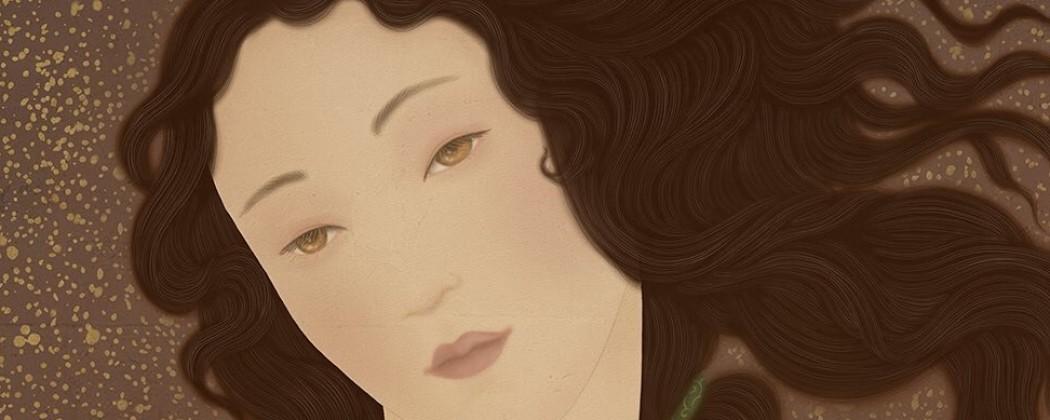Senju Shunga's Bold Version of Sandro Botticelli's The Birth of Venus