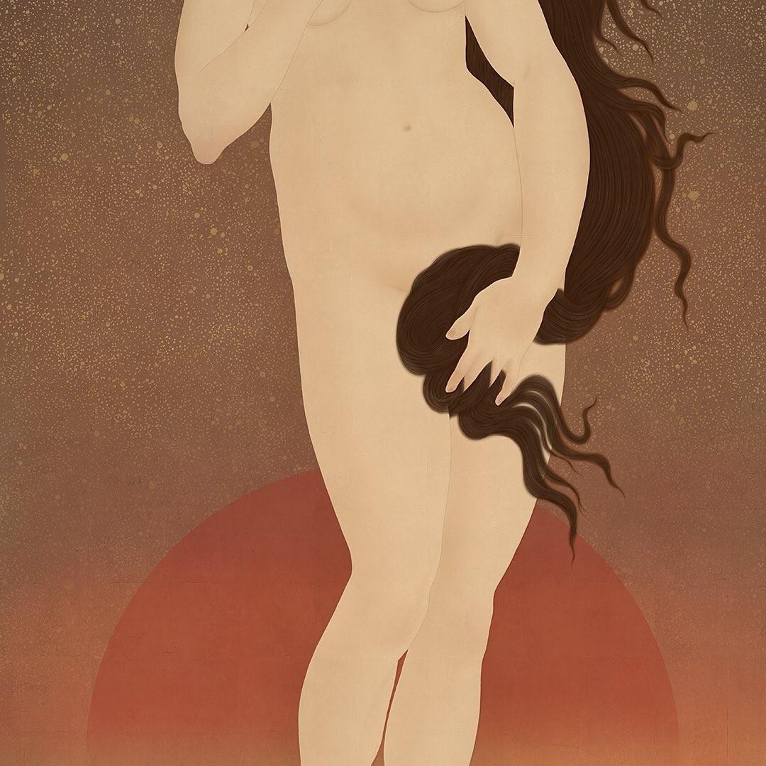 botticelli-senju-shunga-venus-torso