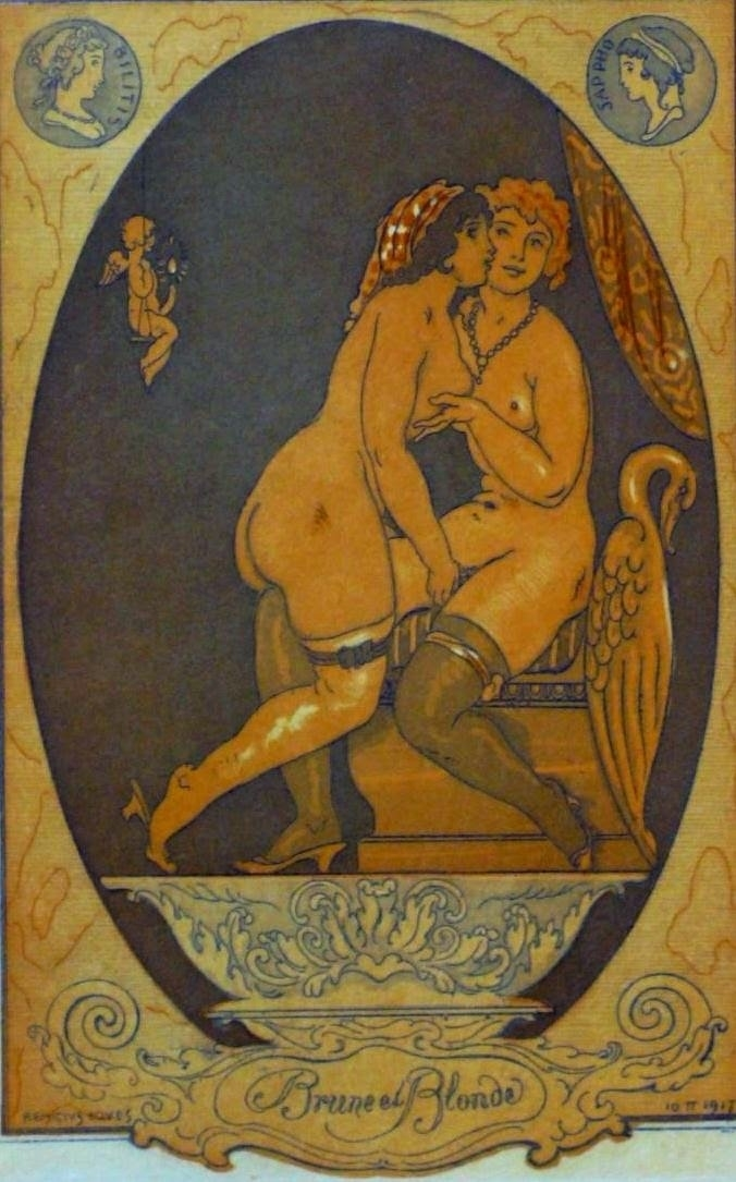 Brunette and Blonde / Bilitis and Sappho