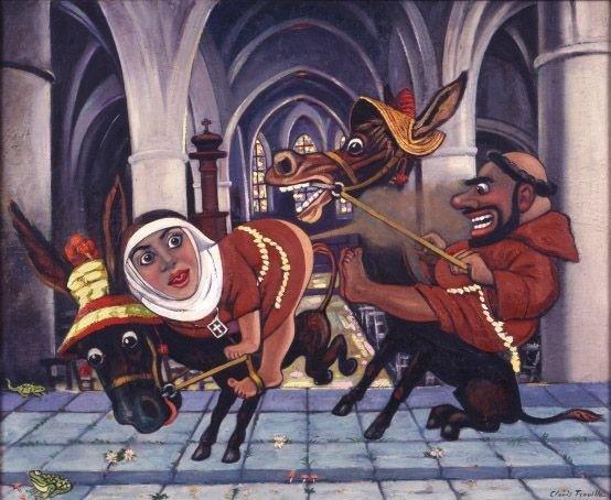 camille trovis trouille: 'La Peinture En Révolte'