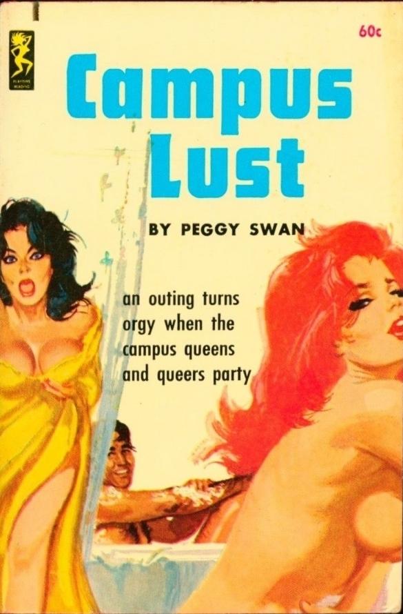 Campus Lust Pulp Cover