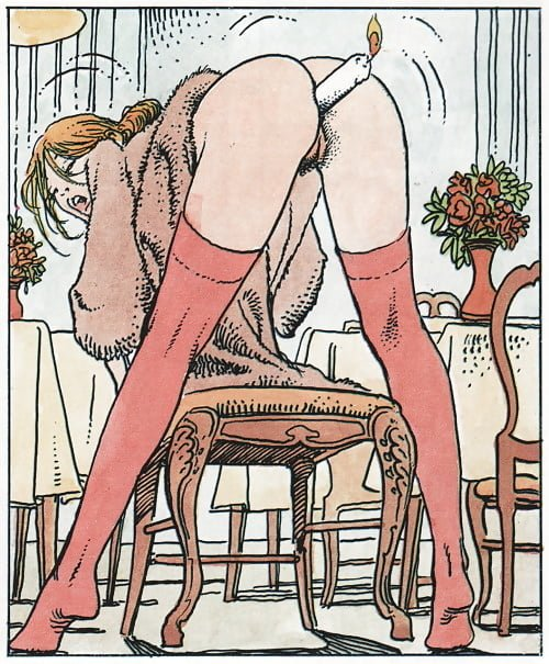 candle in the ass milo manara