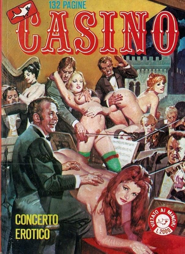 Casino comic book art Alessandro Biffignandi