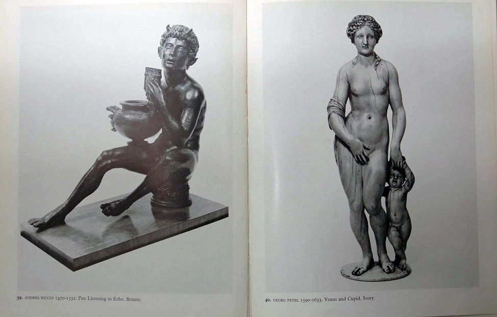 catalogue of the Ashmolean Museum showing the works which inspired Buckland