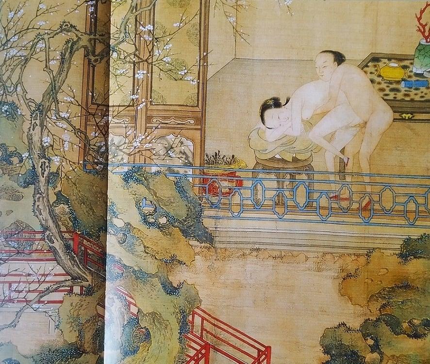 Chinese erotic album 18th century