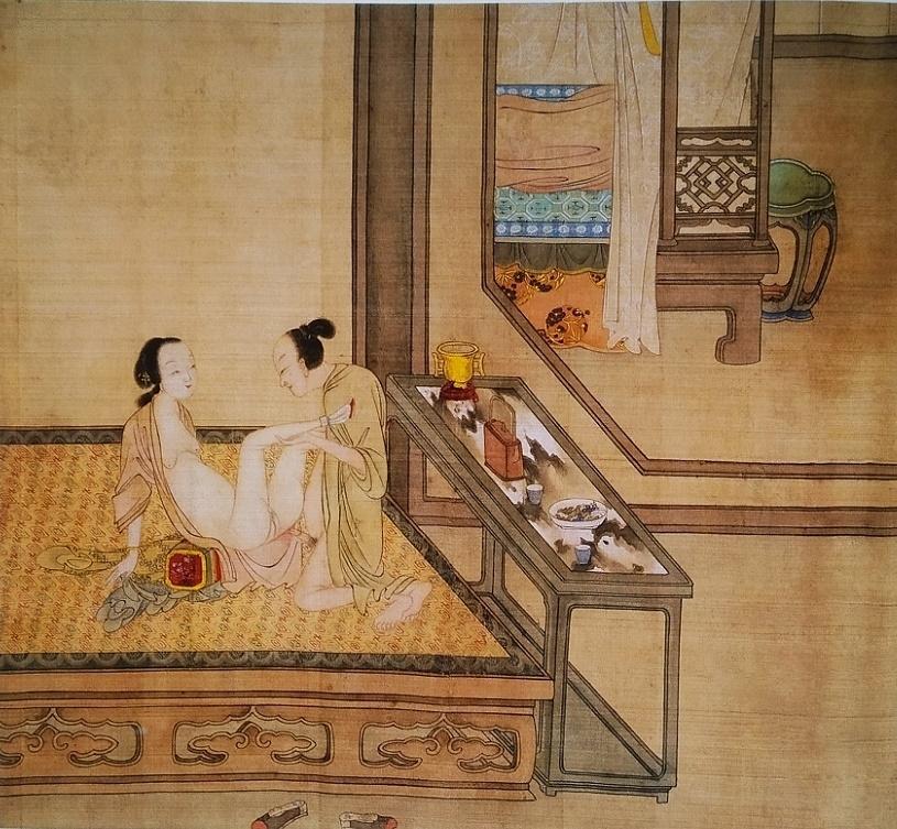 Chinese intimate art
