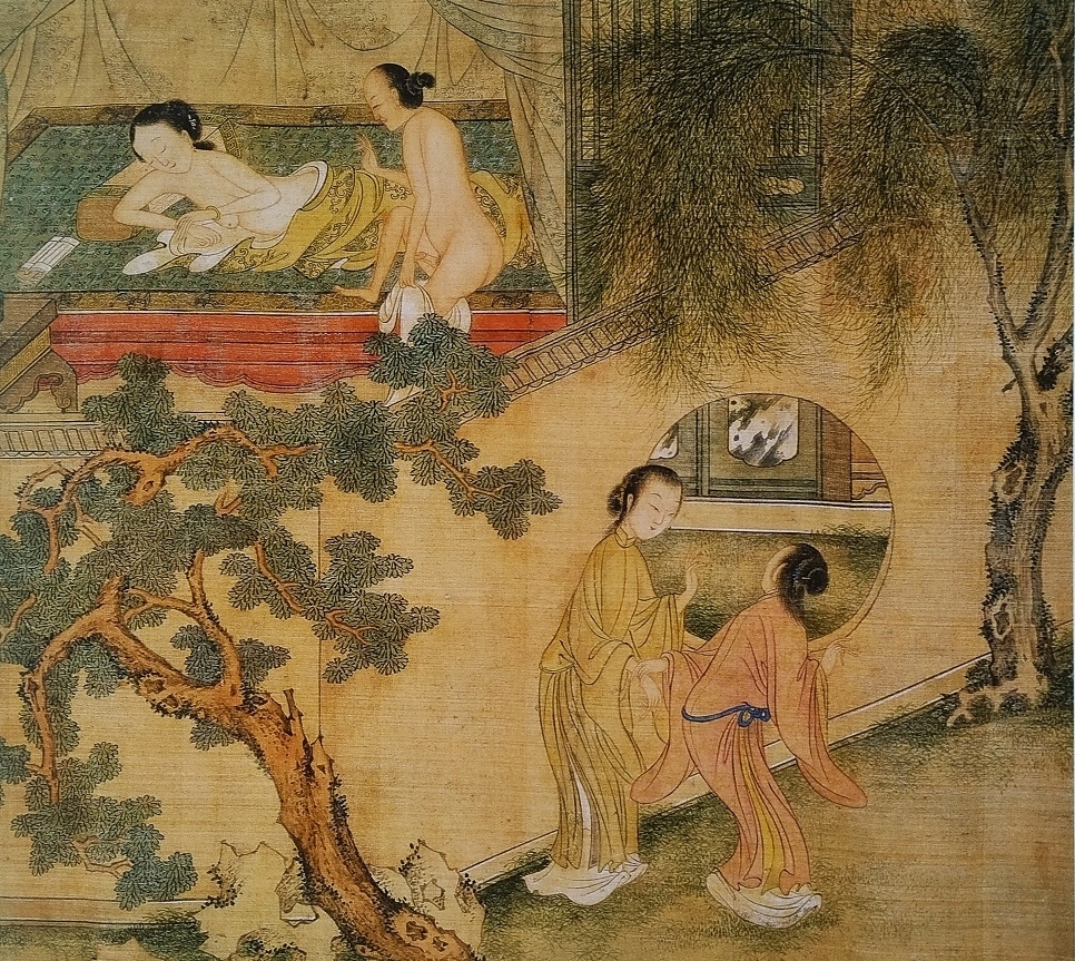 Chinese intimate encounters ancient art