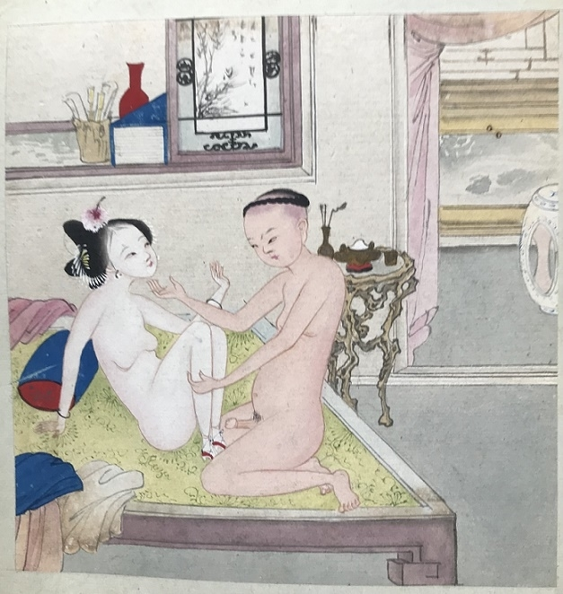 Chinese sensual art