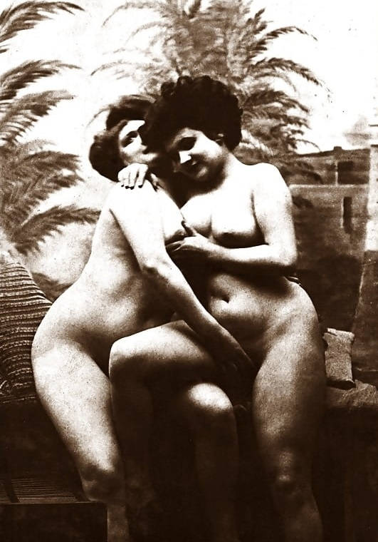 chubby lesbian hookers vintage erotic photograph