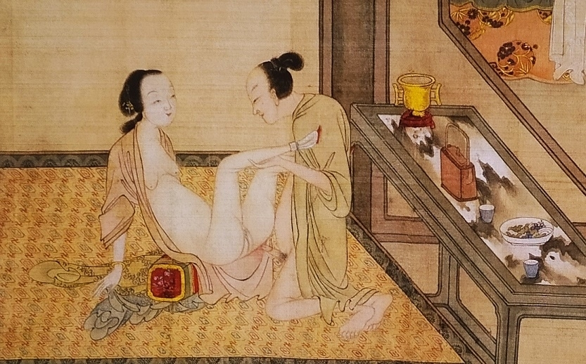 close up 10 Chinese erotic painting