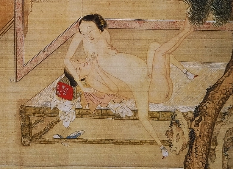 close up 11 Chinese erotic painting