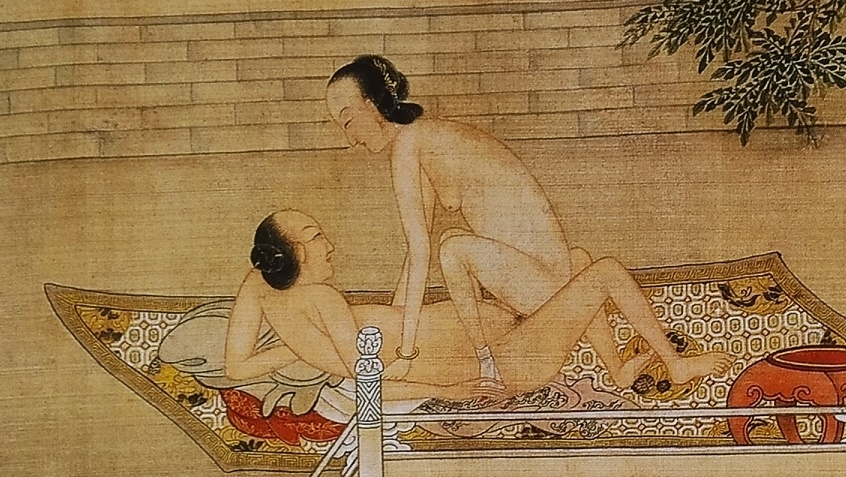 close up 5 Chinese erotic painting