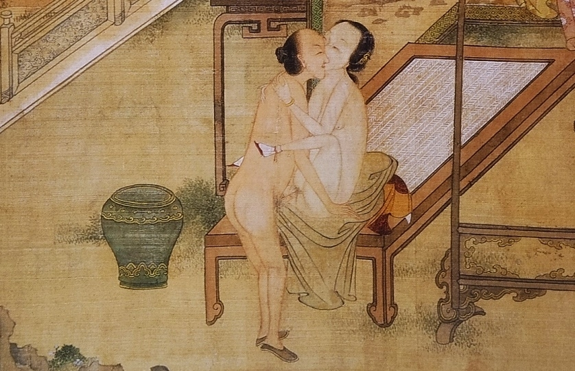 close up 7 Chinese erotic painting
