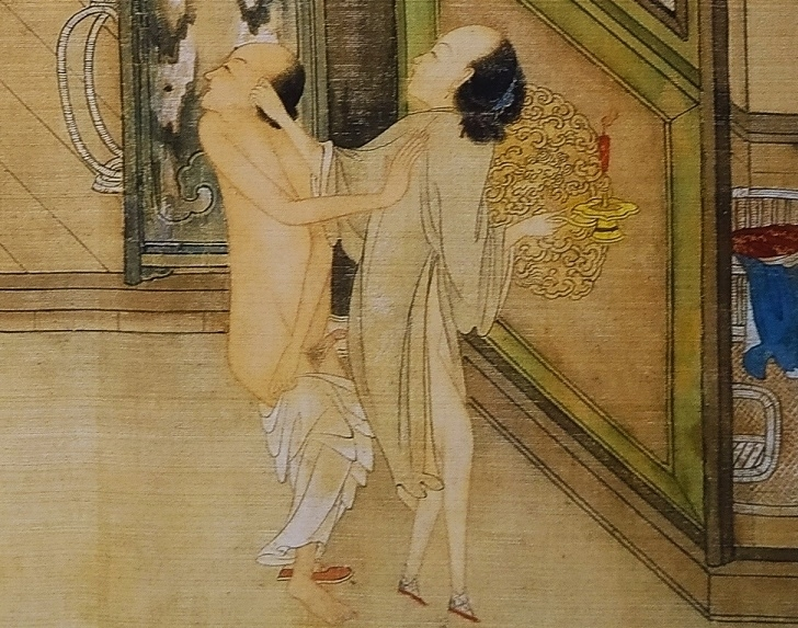 close up 9 Chinese erotic painting