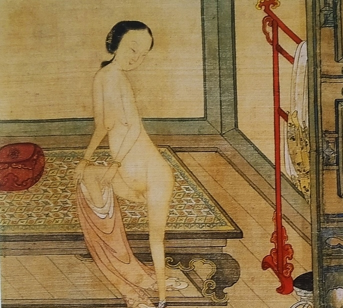 close up 9a Chinese erotic painting