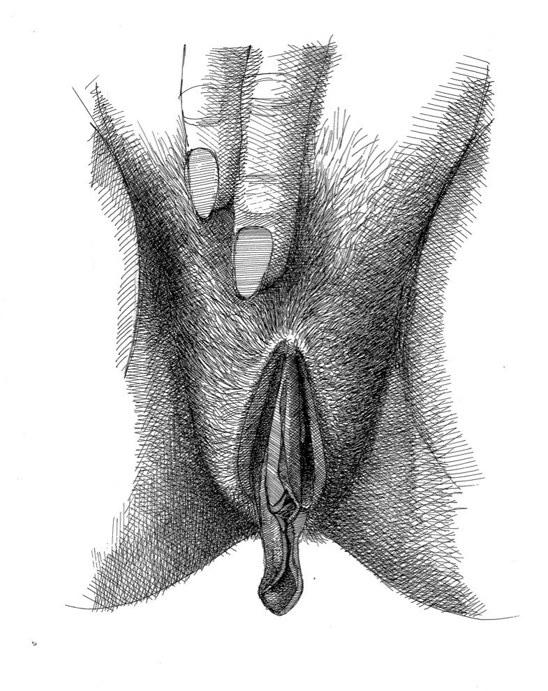 close up clitoris