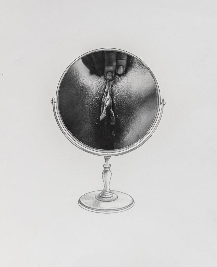 vulva as globe by Betty Dodson