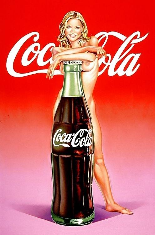 coca cola pin up mel ramos
