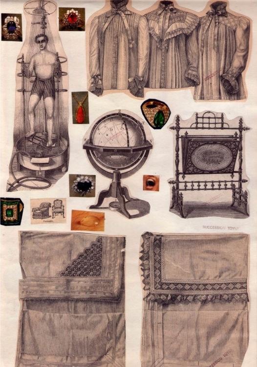 collage Marie Čerminová aka Toyen
