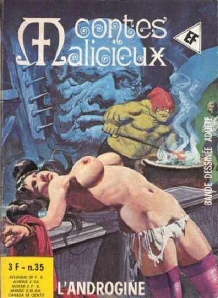 Contes Malicieux comic