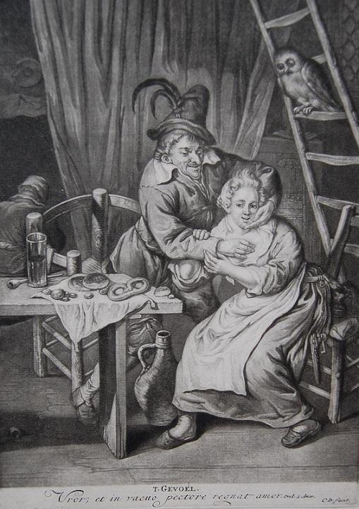 Cornelis Dusart engraving