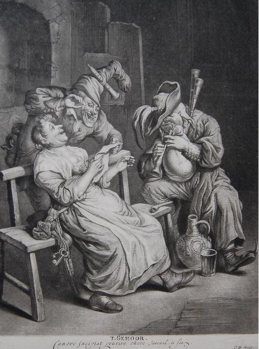 Cornelis Dusart five senses
