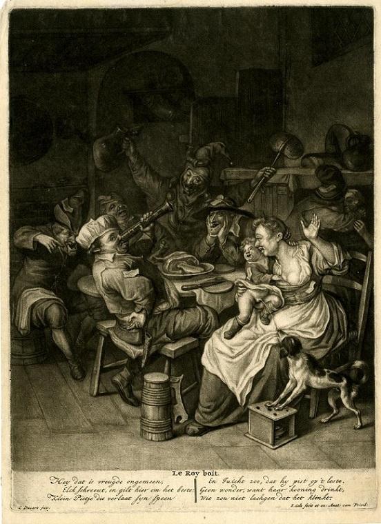 Cornelis Dusart Le Roy Boit