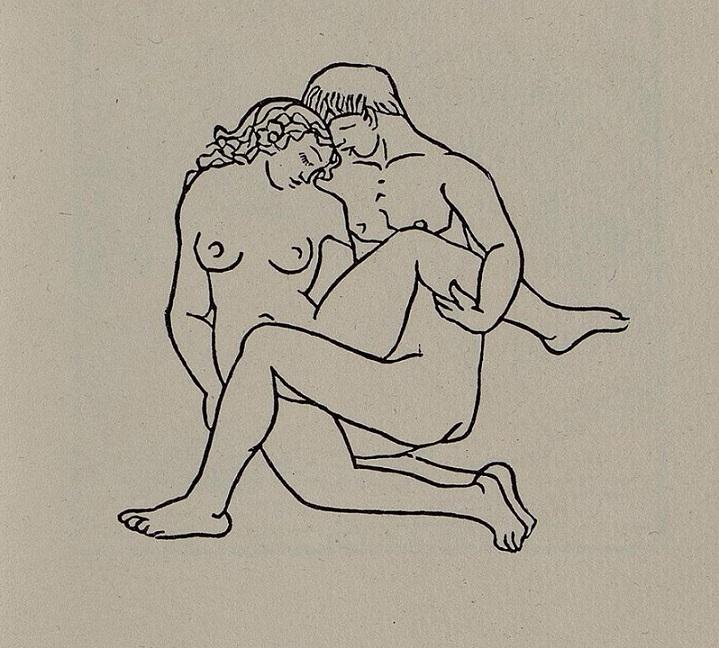 Couple making love Aristide Maillol