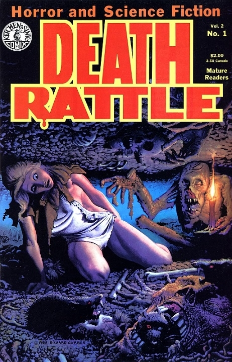 Cover Death Rattle Corben