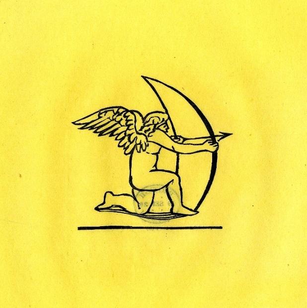 Cupid drawing his bow, Maillot