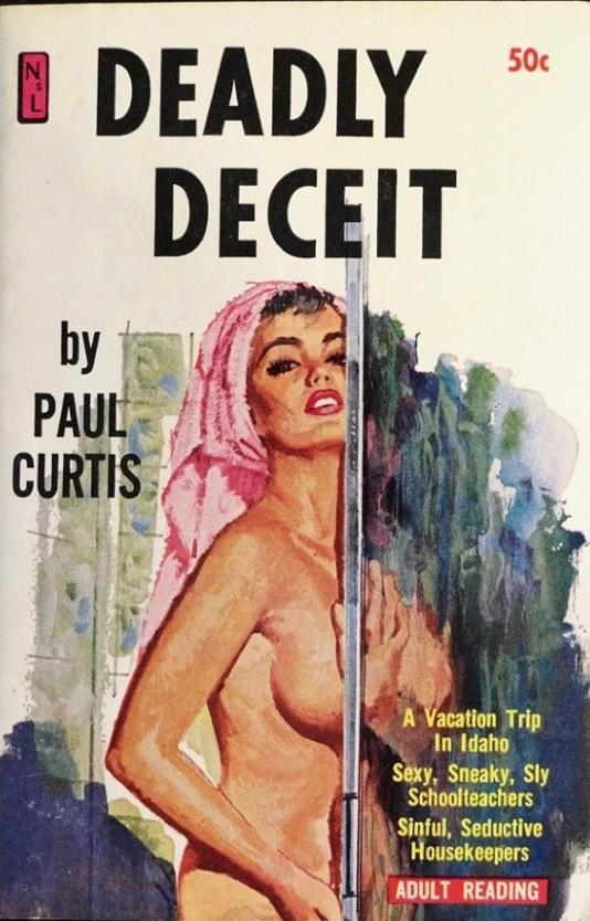 Deadly Deceit Pulp Cover