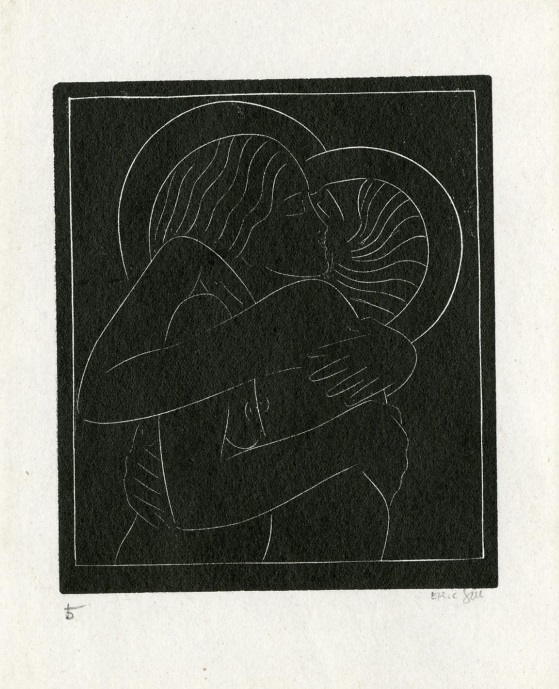 Divine Lovers by Eric Gill