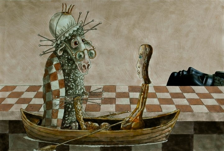 dmitry trubin through the looking glass