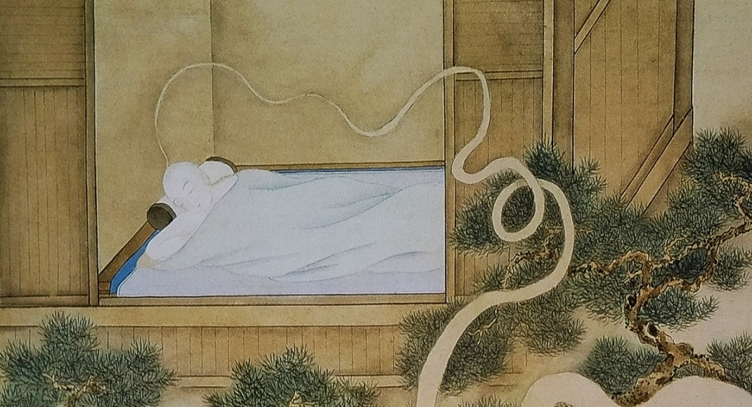 dreaming scholar Chinese erotic art