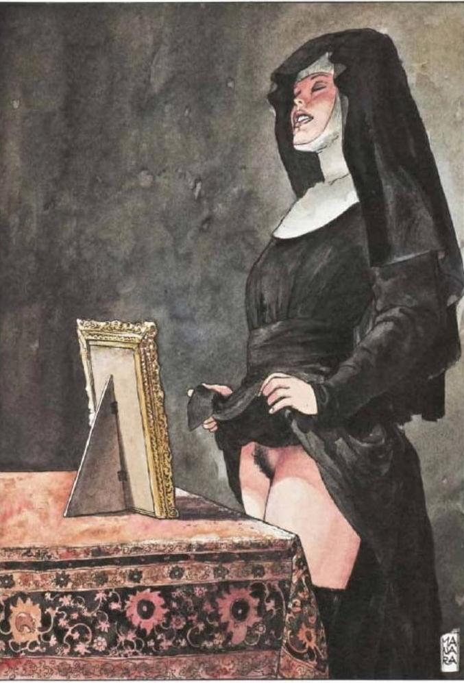 Milo Manara Nun