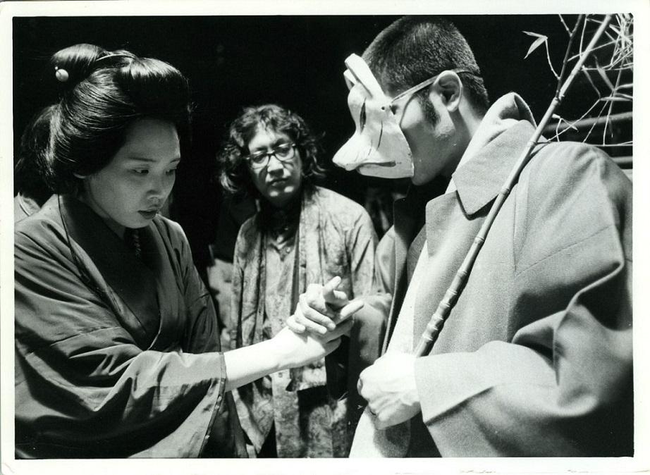 Eiko Matsuda and Tatsuya Fuji with Nagisa Ōshima