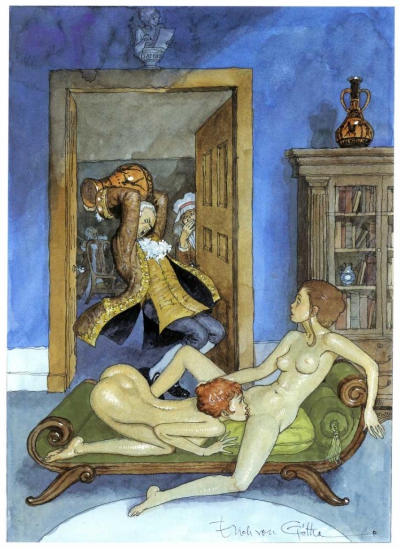 Erich von Gotha lesbian