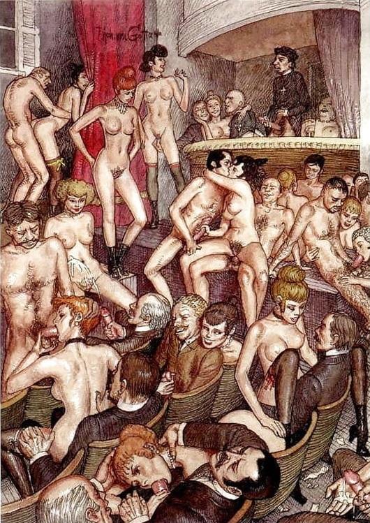 Erich von Gotha orgy