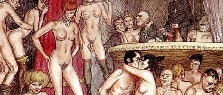 The Sadomasochistic Universe of the British Comic Artist Erich von Götha