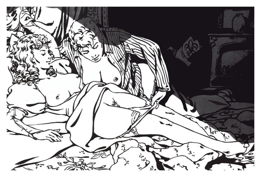 erma jaguar erotic comic