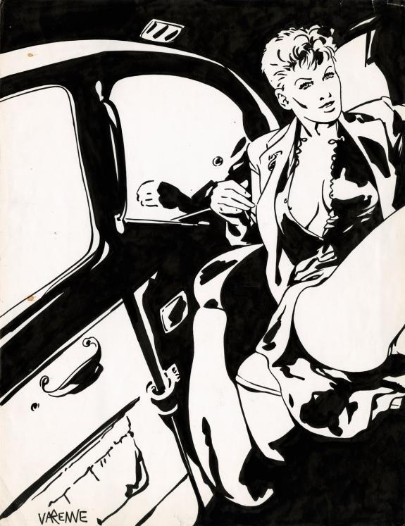 erma jaguar in taxi