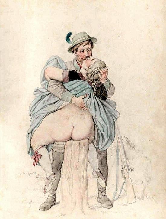 erotic art Johann Nepomuk Geiger