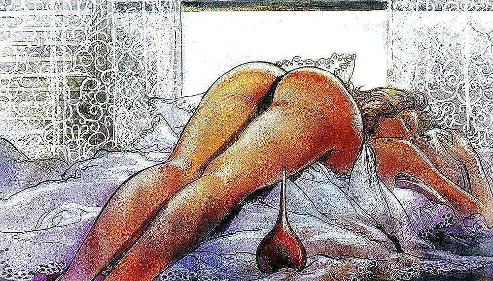 erotic art milo manara