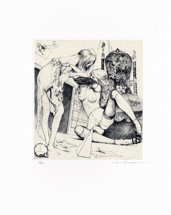 erotic artist alphonse inoue