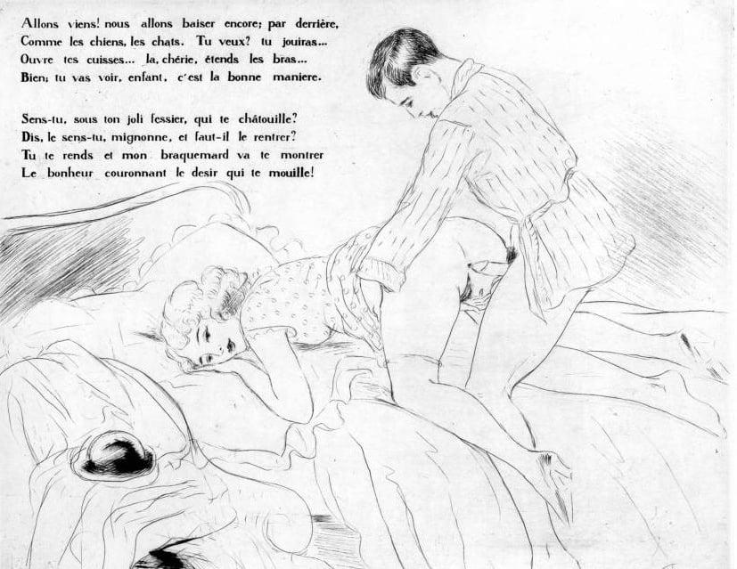 erotic book Léon Courboulei art
